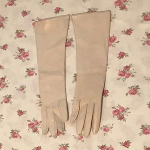 Deadstock Dayne Taylor Soft Leather Long Gloves